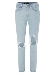 3X1 | Straight Authentic Cropped Denim Jeans | MEI | The UNDONE by 3X1