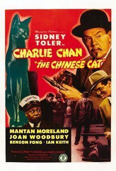 projetor antigo: Charlie Chan e o Gato Chinês 1944 Leg MP4 1944 , Betty Blythe , Ian Keith , Legendado , Phil Rosen , Policial/Suspense , Sidney Toler