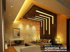 Gypsum False Ceiling Designs For Marvelous False Ceiling Design Drywall Ideas In 2019 . False Ceiling 2018 New False Ceiling Designs For Bedroom . Modern Led Lighting Ideas For Bedroom Ceiling And Wall . Home Design Ideas Home Ceiling, Ceiling Design Bedroom, Bedroom False Ceiling Design, Bedroom Design, Luxurious Bedrooms, Modern Bedroom, Ceiling Light Design, Bedroom Ceiling, Bedroom Ceiling Light