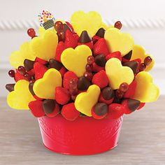Edible Arrangements - Valentine's Day Bouquet™- I would rather have this than flowers!