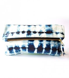 Water Indigo Clutch | Beachy vibes for winter mornings | District West