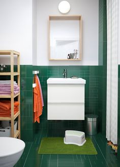 Armario para lavabo GODMORGON/ODENSVIK alto brillo blanco con dos cajones y grifo monomando DALSKÄR