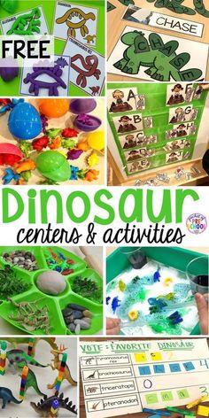 Dinosaur Classroom, Dinosaur Theme Preschool, Preschool Themes, Kindergarten Activities, Preschool Crafts, Toddler Activities, Math Literacy, Dinosaur Dinosaur, Dinosaur Activities For Preschool