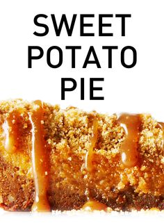 silky sweet potato filling sandwiched between a gingersnap pecan crust ...