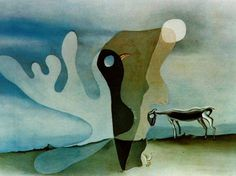 The Ram (The Spectral Cow) by Salvador Dalí