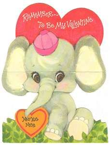 Remember when everyone in class got a Valentine?  And we decorated shoe boxes with red construction paper and heart shaped doilies?  Awwww!!