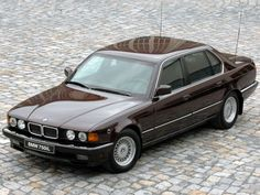1987 Armored BMW 750iL Security E32 luxury