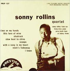 """Sonny Rollins Quartet Label: Prestige 137 10"""" LP 1952"""