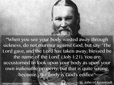 your body is God's..