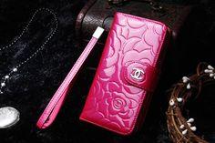 Luxury Chanel iPhone 6 6S Best Case 4.7 Leather wallet Best Case Rose