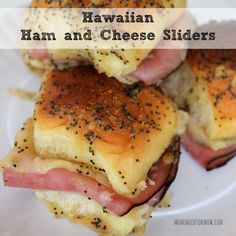Sometimes the most delicious recipes are the simplest and these Hawaiian Ham & Cheese Sliders are both yummy and easy to make! If you are having a party, these would be great served alongside my Sloppy Joe Sliders or even with my Crockpot Cheesesteak recipe! These are the perfect size to serve as an appetizer …