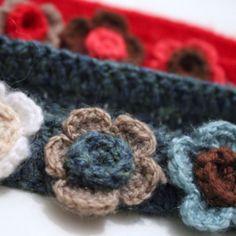 Crochet hairbands