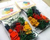 Lego Minifigures Crayons