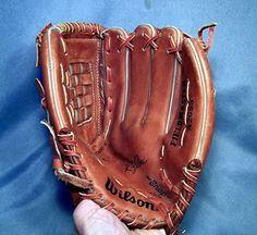 Wilson Right Hand Fieldmaster Dave Righetti Baseball Glove Baseball Gloves, Thrifting, Ebay, Budget