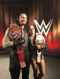 WWE SummerSlam: Reigns, Rousey become champions Wwe Superstar Roman Reigns, Wwe Roman Reigns, Ronda Rousey Wwe, Wwe Raw And Smackdown, Rowdy Ronda, Catch, Wrestling Superstars, Wrestling Wwe, Wrestling Stars