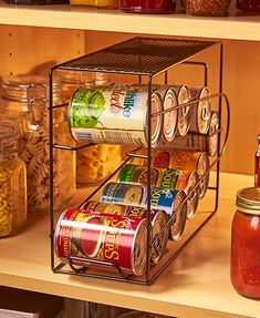 Pantry Maid Can Organizers Food Storage Rotation System