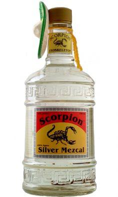 Scorpion Mezcal 70cl silver