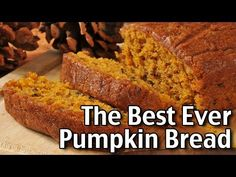 (319) How To Make The BEST Chocolate Chip Pumpkin Bread! - YouTube