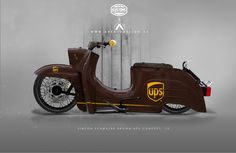 Simson Custom Schwalbe, Schwalbe Custom, Simson Schalbe UPS Concept, DDR Tuning, DDR Custom