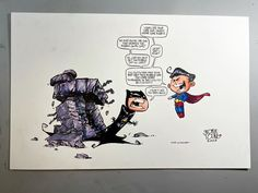 "6,026 Me gusta, 42 comentarios - skottie young (@skottieyoung) en Instagram: ""Batman VS. Superman #commission #dccomics"" Skottie Young, Rocket Raccoon, Buffy The Vampire Slayer, Poison Ivy, Amazing Art, What The Heck, Lady, Poison Oak Plant"