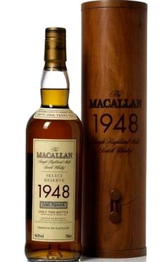 Macallan 1948 Single Highland Malt Scotch Whisky Select Reserve Aged 51 years