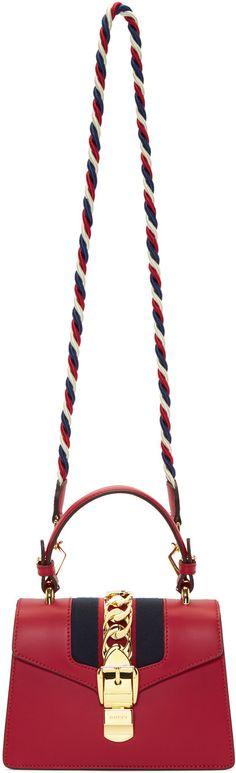 Gucci - Red Mini Sylvie Bag