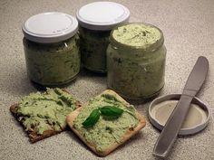 Solsikke-spread med forårsløg Avocado Toast, Hummus, Pesto, Food And Drink, Snacks, Spreads, Breakfast, God, Vegans