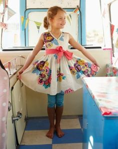 My kid WOULD look this cute in my camper!!!