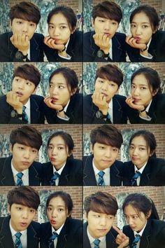 Kang min hyuk - Park shin hye - the heirs The Heirs, Heirs Korean Drama, Korean Dramas, Cnblue, Minhyuk, Park Hyung Sik, Park Shin Hye, Asian Actors, Korean Actors