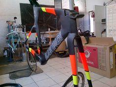 My new custom Black Spade TT bike...more pics to follow soon