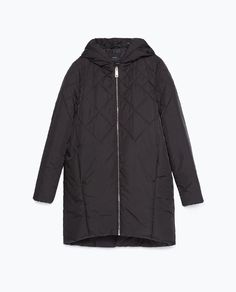 Image 8 of DIAMOND PATTERN QUILTED COAT from Zara