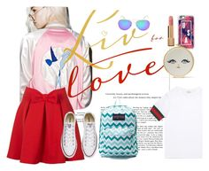 """""""Live For Love"""" by rinmarylee on Polyvore featuring Casetify, Gucci, Converse, JanSport and Chanel"""