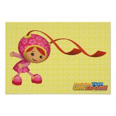 Milli Ponytails Poster | Team Umizoomi
