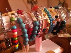 Sideways cross jewelry
