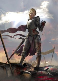 Fierce by Miguel Coimbra (Fantasy Art Watch)- Reminds me of Lady Adnama