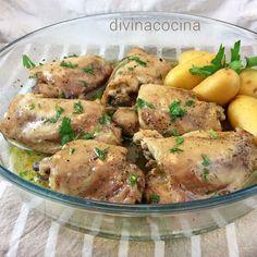 Esta receta de pollo guisado en microondas es rápida, limpia y sabrosa. El pollo queda jugoso y dorado, como ves en la foto, y lo tienes listo al momento.