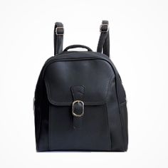 €19,45 URBAN LOOP | Zaino in   ecopelle uomo donna nero | Faux Leather Backpack