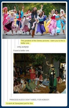 Disney gets owned by Tumblr XD -----> I'd work at Disney just for that too XD