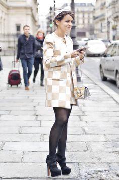 Miroslava Duma en Louis Vuitton