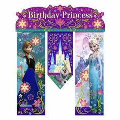 Frozen Birthday Banner 26in
