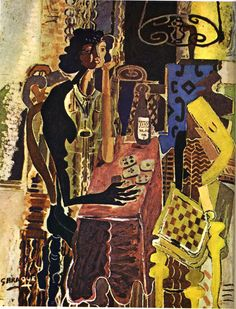 Georges Braque - The Patience, 1942, oil on canvas