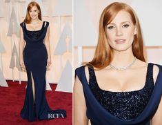 Jessica Chastain In Givenchy Couture – 2015 Oscars