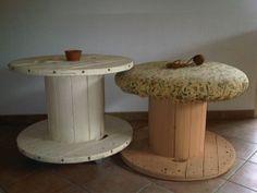 les 20 meilleures images du tableau table bobine sur pinterest bobine de bois tables tiroir. Black Bedroom Furniture Sets. Home Design Ideas