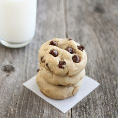 Best Soft Chocolate Chip Cookies. These cookies are thick and stay soft for days.