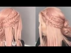 Club Hairstyles, Easy Hairstyles For Long Hair, Long Hair Cuts, Twist Hairstyles, Hairstyles With Bangs, Straight Hairstyles, Prom Makeup For Brown Eyes, Black Makeup, Gold Makeup