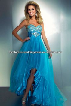 Short In The Front And Long In The Back  Prom Dresses 2013 for sale