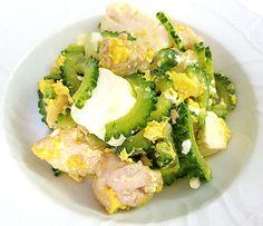 Goya Chanpuru (Champuru): Okinawan Stir Fry With Bitter Gourd, Tofu, Pork and Egg Recipe