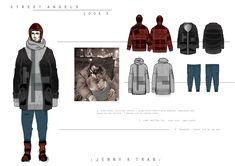 ARTS THREAD Portfolios - ARTS THREAD Fashion Portfolio Layout, Fashion Design Sketchbook, Portfolio Ideas, Technical Illustration, Technical Drawing, Fashion Courses, Royal College Of Art, Raglan Shirts, Fashion Flats