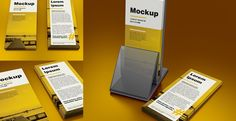 Free Mock-up – Ulotka DL / DL Leaflet  – 99×210 mm (176Mb) | graficzny.com.pl