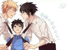 SasuNaru (because Menma totally looks like what their child would :P )